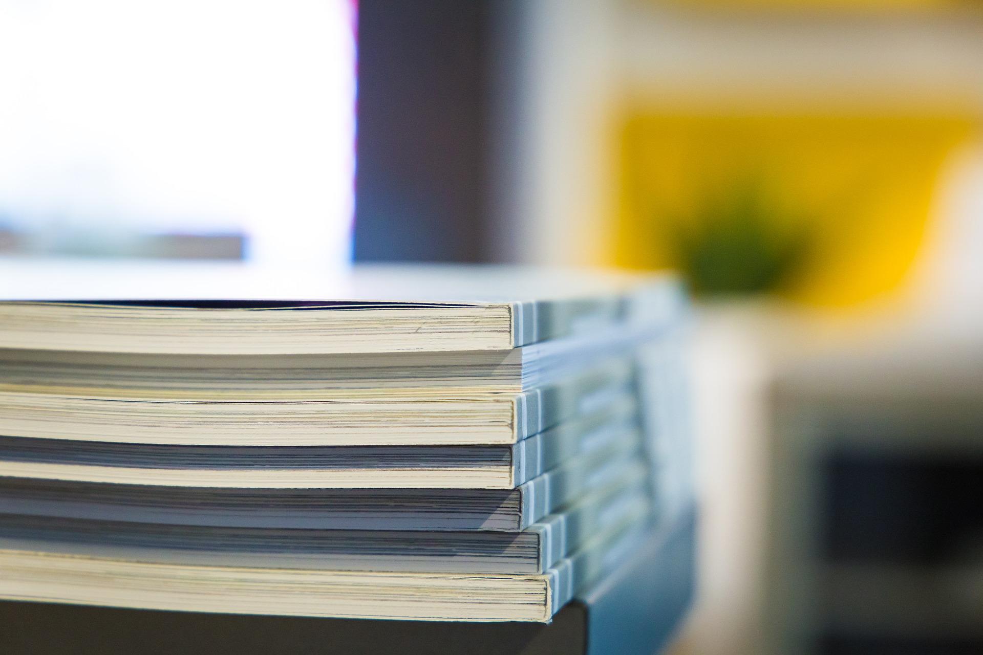 Ett tryckeri för kontorsmaterial i Stockholm kan trycka kataloger